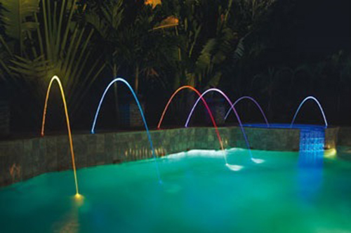 Pentair 580001t Magicstream Laminar Led Pool Deck Light