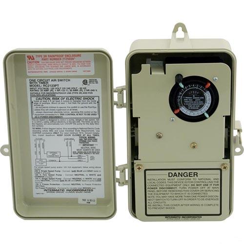 Sauna & Schwimmbecken Intermatic RC2343PT Air Switch with Timer 4 ...