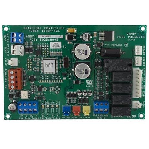 Jandy R0458200 Lxi Heater Pcb Control Board Tc Pool