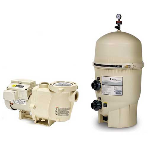 Pentair IntelliFlo VSF Variable Speed Pool Pump Filtration System | VSF-DE60