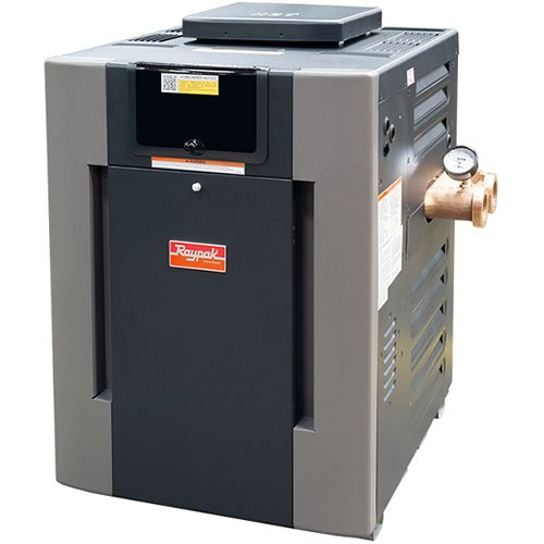 Raypak 406 Digital ASME Bronze, Cupro-Nickel Pool and Spa Heater 0-2000 ft.  | B-R406A-EN-X #50