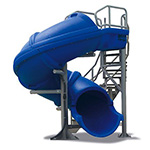 S.R. Smith Vortex Closed Tube Pool Slide w/Staircase | 695-209-43